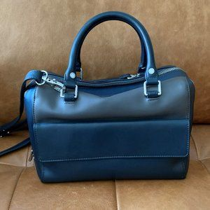 Danier Leather Double Zipped bag